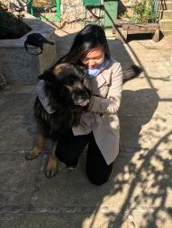 Making friends in Montenegro
