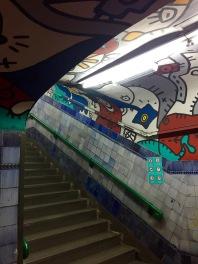 Agüero subte station