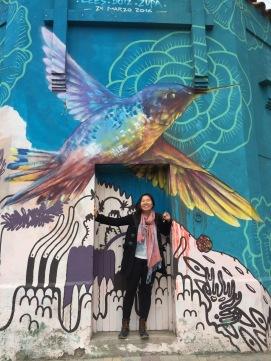 Surprise surprise! Mendoza also has pretty street art.