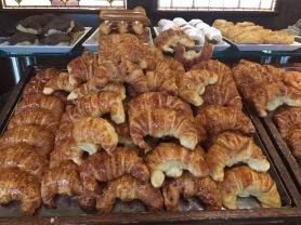 Medialunas, the national breakfast food of Argentina