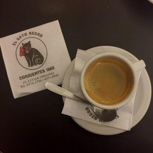 Un cafe simple.