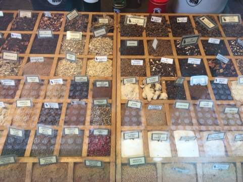 El Gato Negro specializes in selling spices by the pound. The entire place smells amazing.